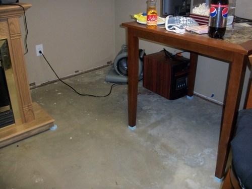 flooded basement water damaged basement in saratoga springs new york